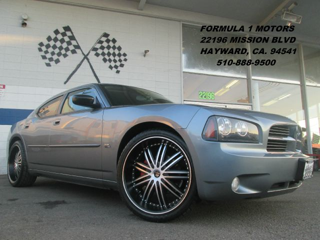 2006 DODGE CHARGER SXT silver steel metallic 35 liter high output sxt with brand new matte black