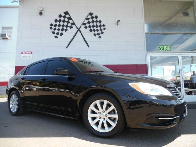 2013 CHRYSLER 200 TOURING 4DR SEDAN black vin1c3ccbbg3dn635382 this is a very nice chrysler 200