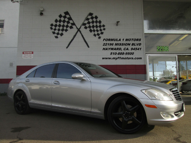 2007 MERCEDES-BENZ S-CLASS S550 4DR SEDAN silver navigation - leather - moon roof - luxury - wow