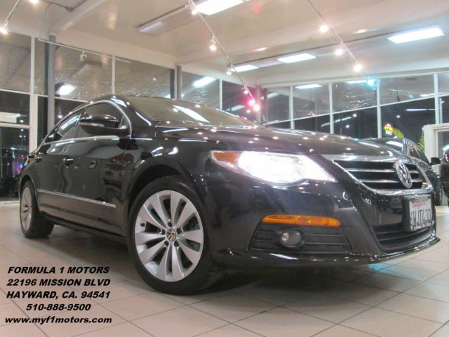 2009 VOLKSWAGEN CC SPORT 4DR SEDAN black abs - 4-wheel airbag deactivation - occupant sensing pas