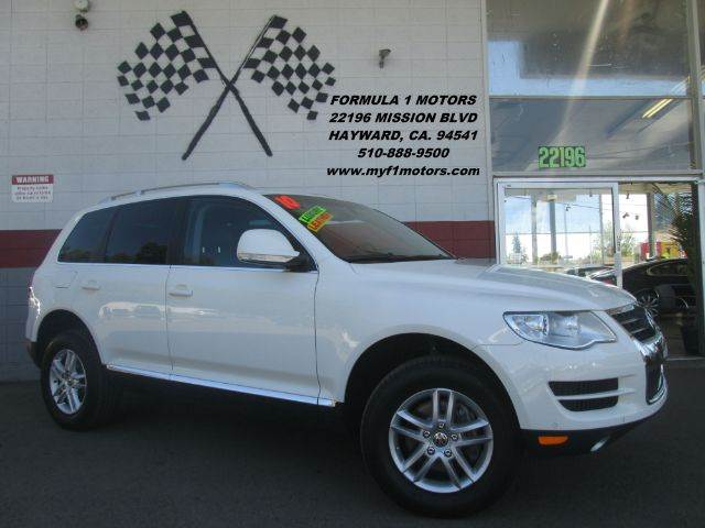 2010 VOLKSWAGEN TOUAREG V6 TDI 4DR SUV white 2-stage unlocking - remote abs - 4-wheel airbag de