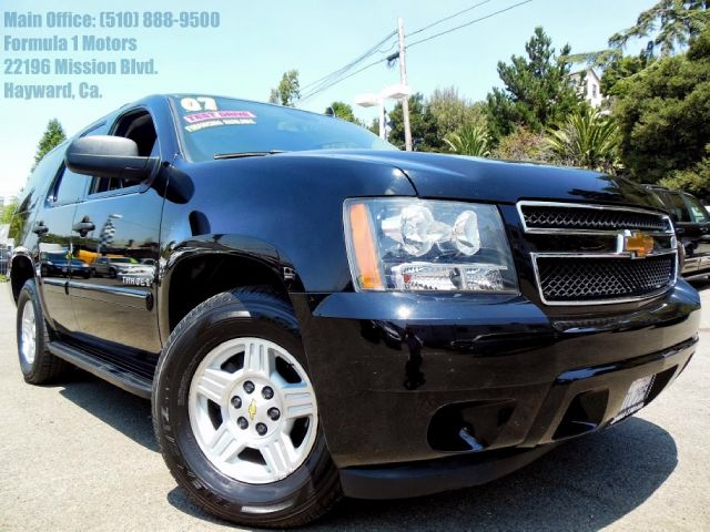 2007 CHEVROLET TAHOE LS 2WD black 53l v8 automatic ls running boards luggage rack 3rd row seat
