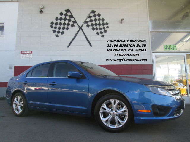 2012 FORD FUSION SE 4DR SEDAN blue 2-stage unlocking abs - 4-wheel air filtration antenna type