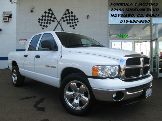 2005 DODGE RAM 1500 SLT QUAD CAB SHORT BED 2WD white abs brakesair conditioningamfm radioanti-