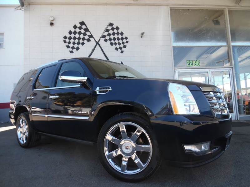 2009 CADILLAC ESCALADE AWD 4DR SUV WV8 ULTRA LUXURY CO blue loaded gorgeous leather interior