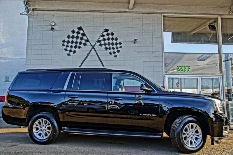 2015 GMC YUKON XL SLT 1500 4X2 4DR SUV onyx black creating a new standard in full-size utility o