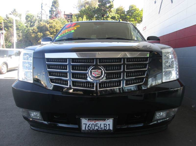 2007 CADILLAC ESCALADE EXT BASE AWD 4DR CREW CAB SB black 2-stage unlocking - remote 4wd type -