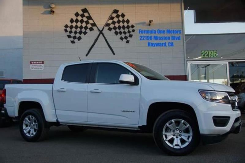 2016 CHEVROLET COLORADO LT 4X2 4DR CREW CAB 5 FT SB summit white an ideal mix of performance re