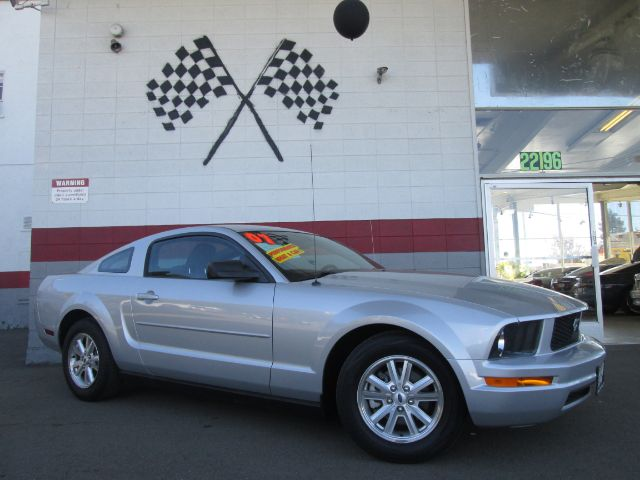 2007 FORD MUSTANG V6 DELUXE 2DR COUPE silver airbag deactivation - occupant sensing passenger ant