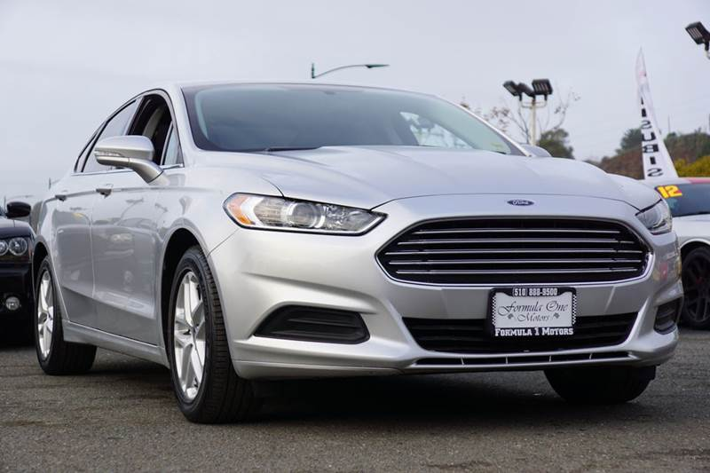 2013 FORD FUSION SE 4DR SEDAN sterling gray 2-stage unlocking doors abs - 4-wheel air filtratio