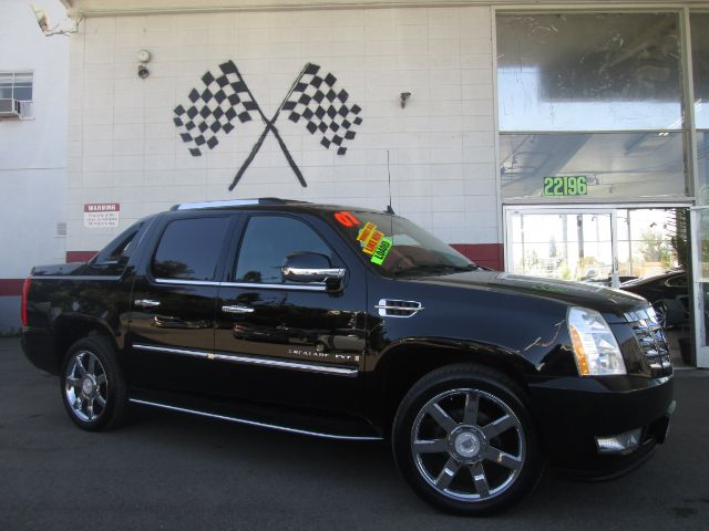 2007 CADILLAC ESCALADE EXT AWD 4DR CREW CAB SB black super clean cadillac escalade ext loaded wi