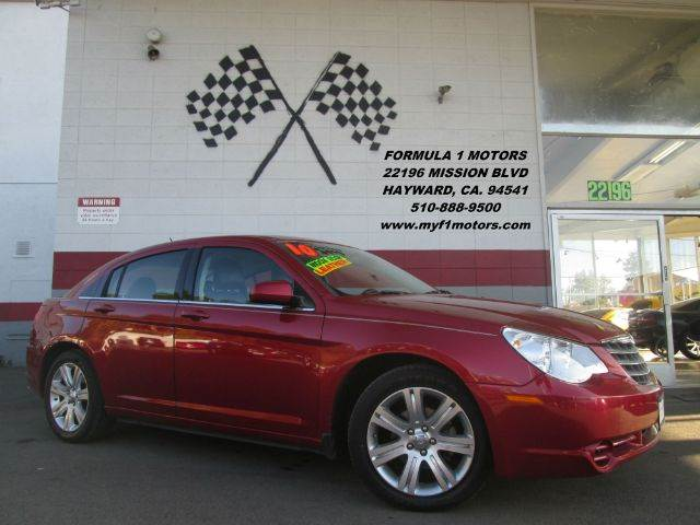 2010 CHRYSLER SEBRING LIMITED 4DR SEDAN burgundy this is a beautiful chrysler sebring loaded wit