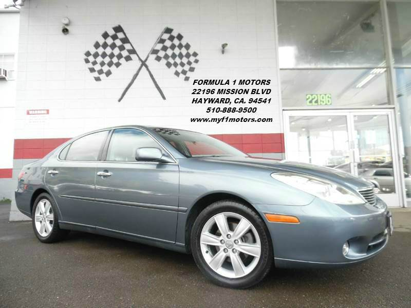 2005 LEXUS ES 330 4DR SEDAN blue great combination of wood rubber and plastic throughout the ca