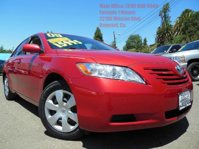 2009 TOYOTA CAMRY LE 5-SPD AT red 24l 16v automatic very clean gas saver abs brakesair conditi