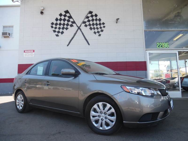 2013 KIA FORTE EX 4DR SEDAN pewter 2-stage unlocking - remote abs - 4-wheel active head restrai
