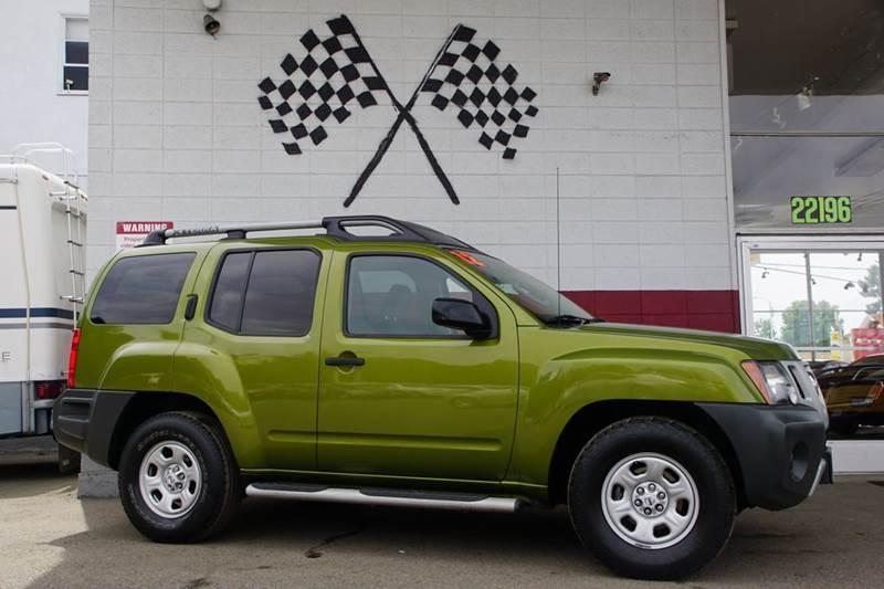 2012 NISSAN XTERRA S 4X2 4DR SUV metallic green 2-stage unlocking doors abs - 4-wheel active he