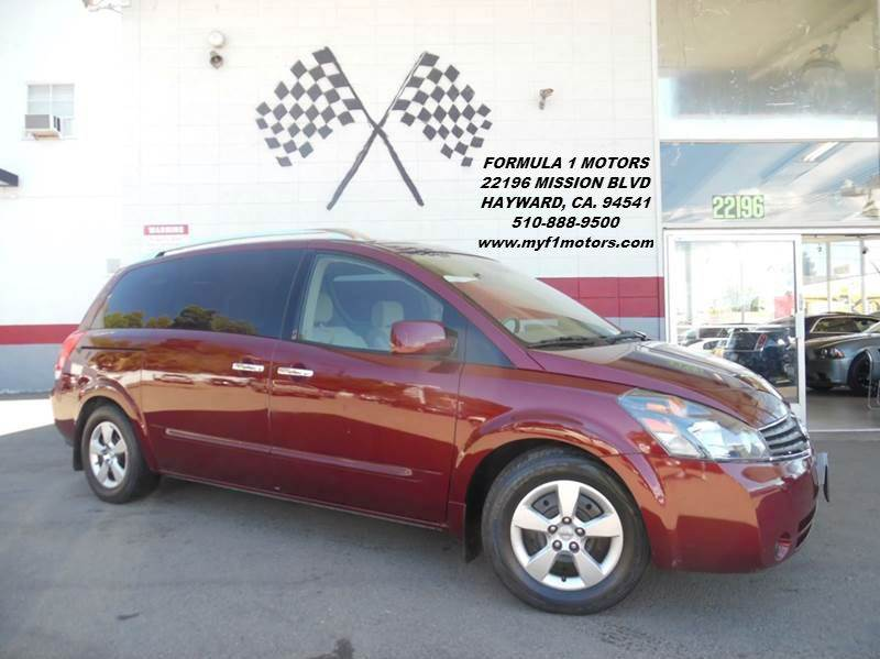 2009 NISSAN QUEST 35 S 4DR MINI VAN red perfect family van very spacious drives great awesome
