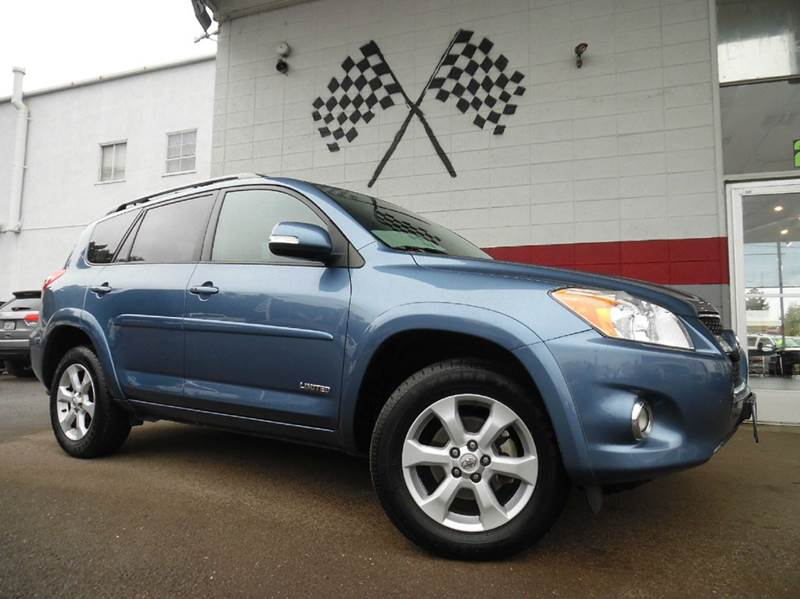 2012 TOYOTA RAV4 LIMITED 4DR SUV V6 light blue vin 2t3yk4dv7cw015962 this rav4 is in pristine con