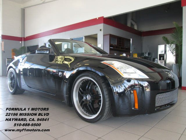 2004 NISSAN 350Z TOURING 2DR ROADSTER black perfect summer car very nice nissan 350z convertibl