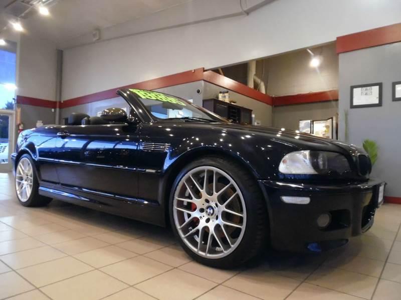 2006 BMW M3 BASE 2DR CONVERTIBLE black vin wbsbr93486pk12199 this bmw is a fun to drive converti