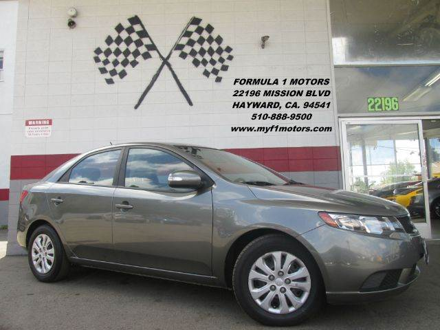2010 KIA FORTE EX 4DR SEDAN 4A pewter this kia forte is in great condition inside and out very d