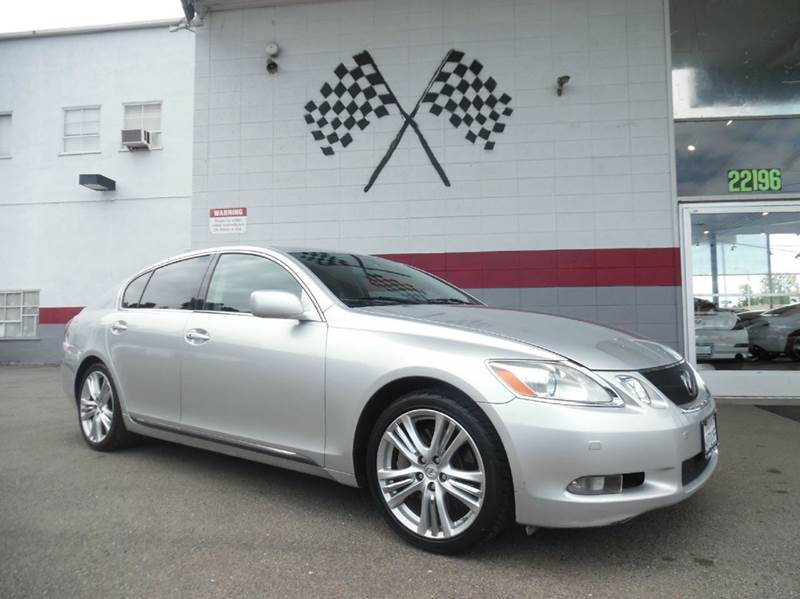 2007 LEXUS GS 450H BASE 4DR SEDAN silver this unit is a great buy has navigation to help you g