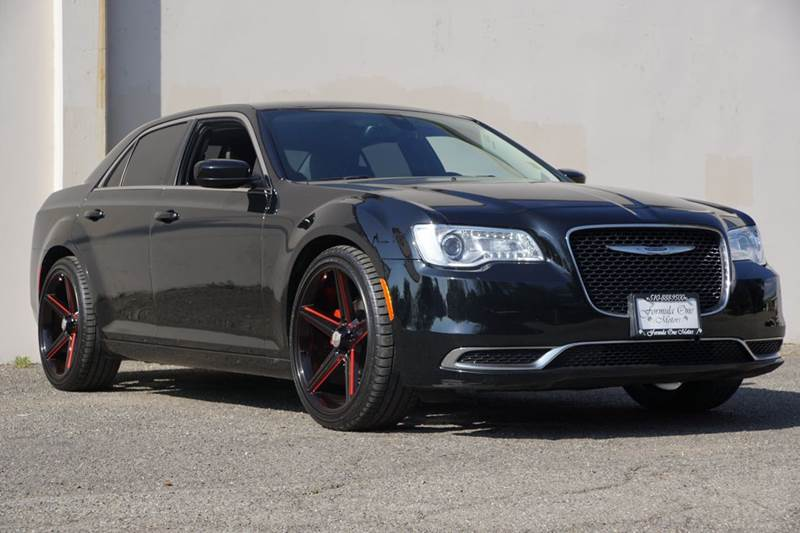 2015 CHRYSLER 300 LIMITED 4DR SEDAN phantom black tri-coat pearl 2-stage unlocking doors abs - 4-