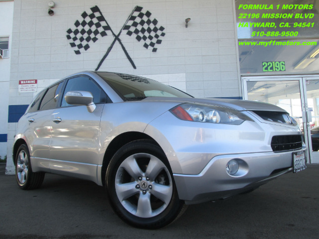 2008 ACURA RDX SH-AWD silver sh-all wheel drive turbo rdx - loaded with moon roof and leather