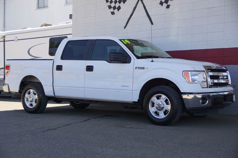 2014 FORD F-150 XLT 4X2 4DR SUPERCREW STYLESIDE oxford white 2-stage unlocking doors abs - 4-whe