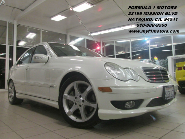 2007 MERCEDES-BENZ C-CLASS C230 SPORT SEDAN white abs brakesair conditioningalloy wheelsamfm r