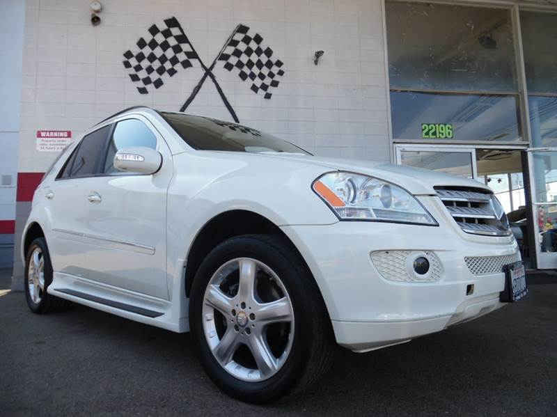 2008 MERCEDES-BENZ M-CLASS ML350 AWD 4MATIC 4DR SUV white vin 4jgbb86e18a338917   super clean mer