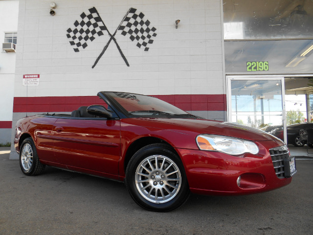 2004 CHRYSLER SEBRING TOURING CONVERTIBLE red with summer around the corner this is the perfect ca