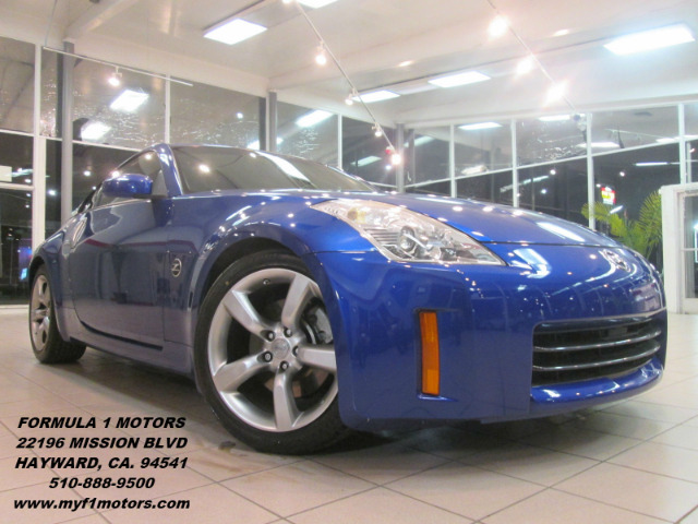 2006 NISSAN 350Z TOURING 2DR HATCHBACK 35L V6 5 blue abs - 4-wheel antenna type anti-theft sys