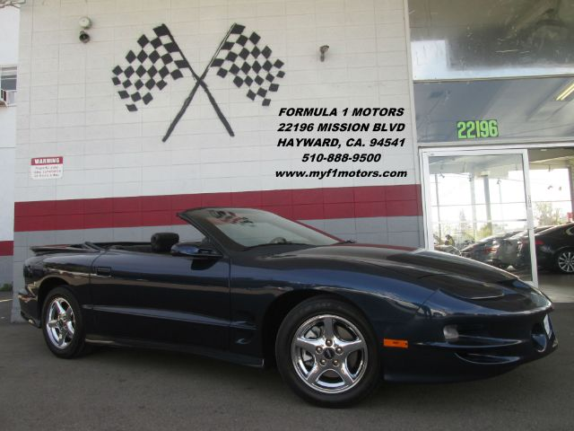 2002 PONTIAC FIREBIRD TRANS AM 2DR CONVERTIBLE blue super clean pontiac firebird  runs great it