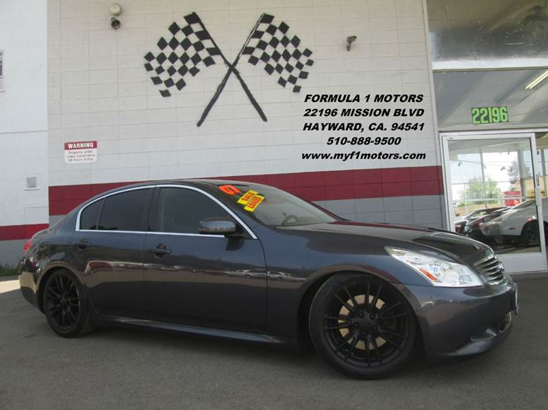 2007 INFINITI G35 SPORT 4DR SEDAN 35L V6 5A charcoal gray 2-stage unlocking - remote abs - 4-