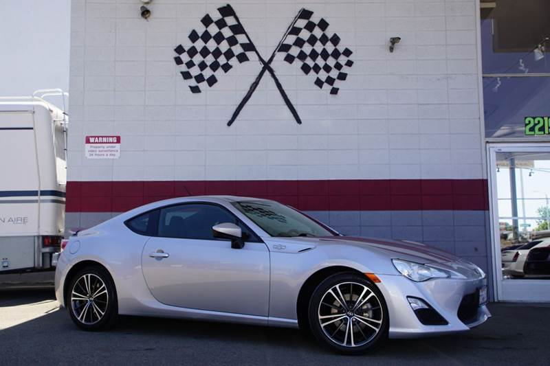2013 SCION FR-S BASE 2DR COUPE 6A argento 2-stage unlocking doors abs - 4-wheel active head res