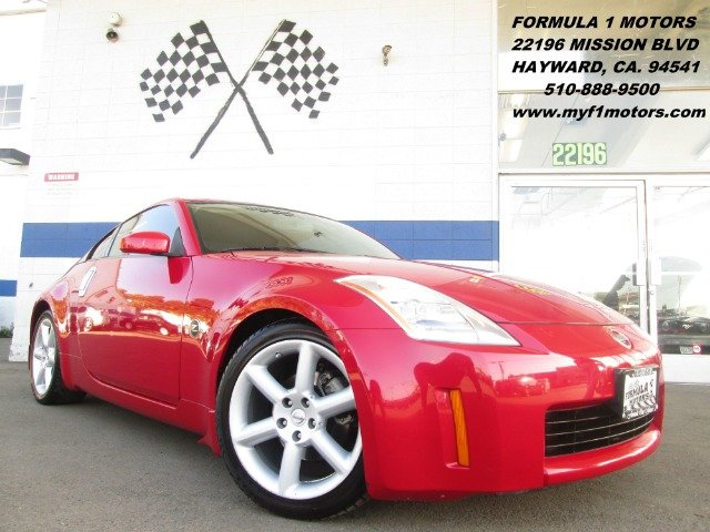 2005 NISSAN 350Z TOURING COUPE red abs brakesair conditioningalloy wheelsamfm radioanti-brake
