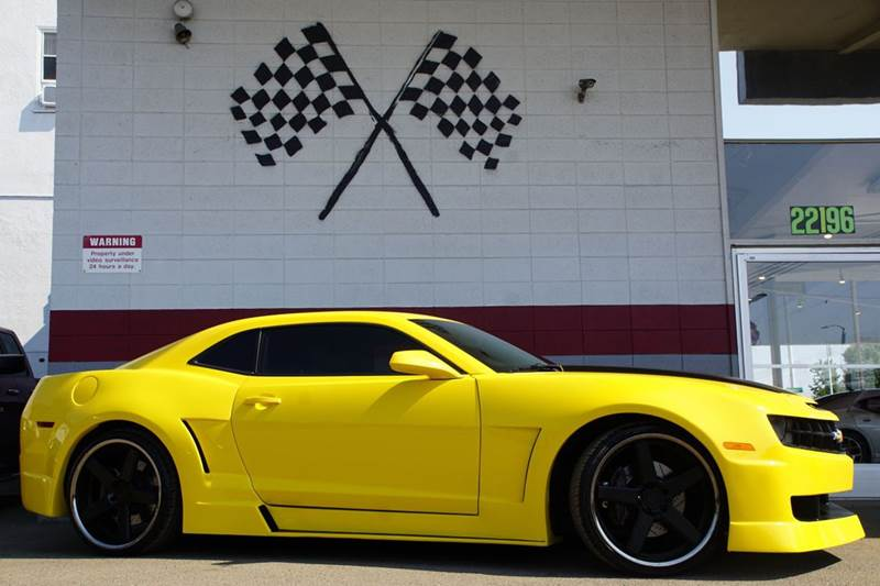 2011 CHEVROLET CAMARO SS 2DR COUPE W2SS yellow custom wide body brand new niche wheels and tire