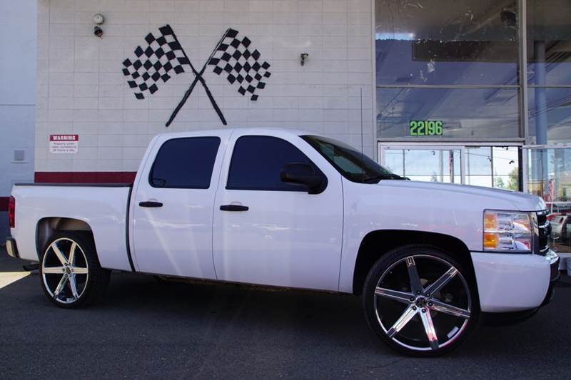 2009 CHEVROLET SILVERADO 1500 LT 4X2 4DR CREW CAB 58 FT SB summit white airbag deactivation - o