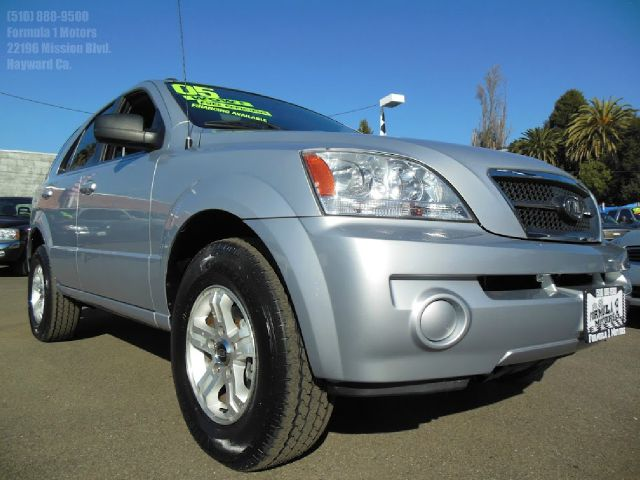 2005 KIA SORENTO LX 2WD silver 35l v6 automatic luggage rack air conditioningamfm radioanti-b