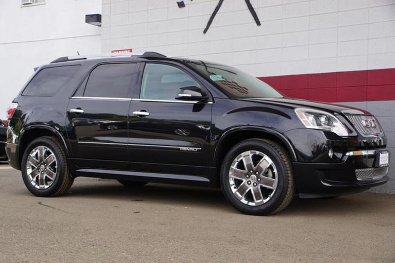 2012 GMC ACADIA DENALI 4DR SUV carbon black metallic our 2012 gmc acadia denali fwd is shown in b
