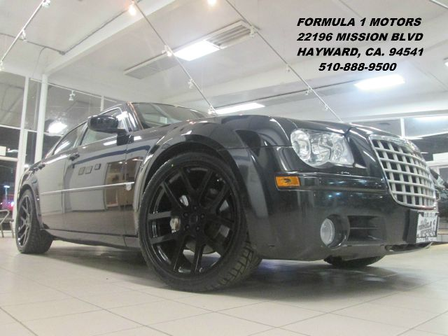 2006 CHRYSLER 300C C SRT-8 22 WHEELS black abs brakesadjustable foot pedalsair conditioningallo