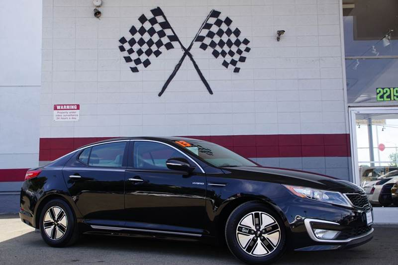 2013 KIA OPTIMA HYBRID EX 4DR SEDAN aurora black pearl 2-stage unlocking doors abs - 4-wheel act