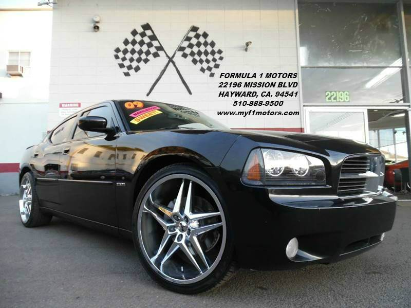 2009 DODGE CHARGER RT 4DR SEDAN black this is a sweet hemi rt charger black on black with 22 ch