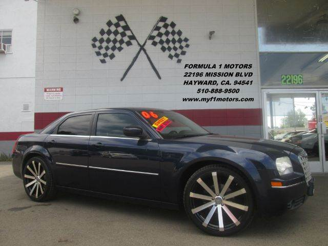 2006 CHRYSLER 300 TOURING 4DR SEDAN blue super clean chrysler 300 brand new 22 wheels and tires