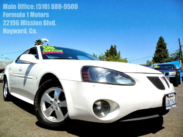 2008 PONTIAC GRAND PRIX SEDAN white 38l v6 ohv 12v automatic air conditioningalloy wheelsamfm