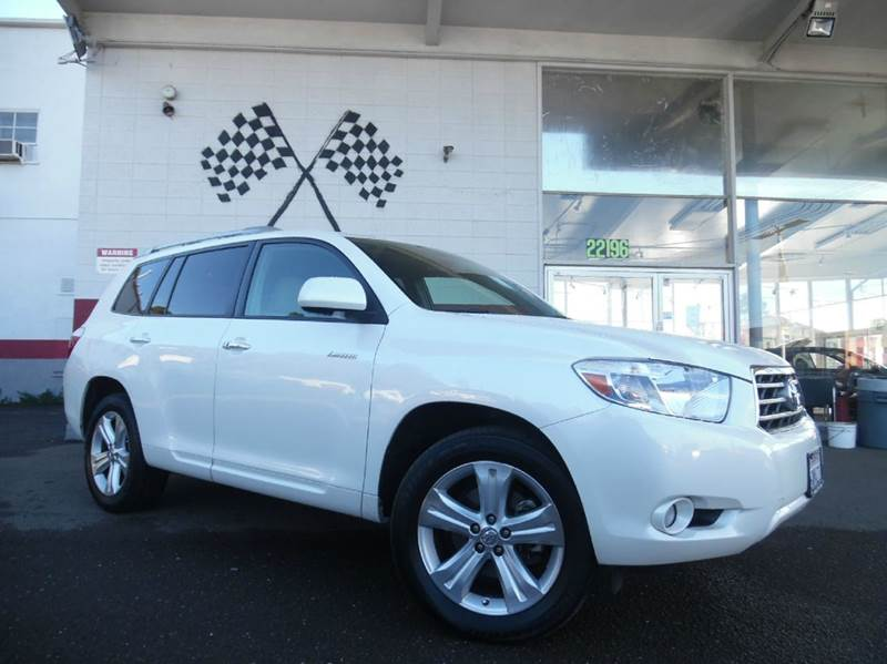 2010 TOYOTA HIGHLANDER LIMITED 4DR SUV white vin 5tdyk3eh7as017311 this is a great family car