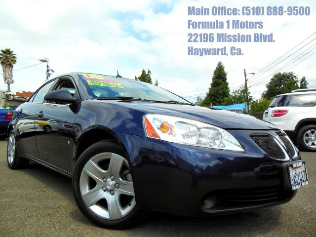 2008 PONTIAC G6 SEDAN blue 24l 16v automatic low miles abs brakesair conditioningamfm radioa