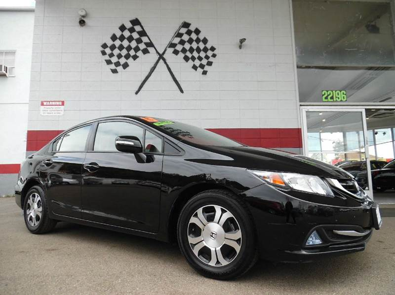 2013 HONDA CIVIC HYBRID 4DR SEDAN black vin19xfb4f29de203891 this is a very nice honda civic hyb