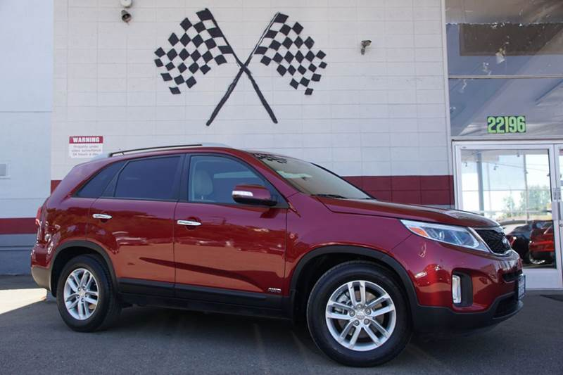 2015 KIA SORENTO LX AWD 4DR SUV V6 remington red metallic 2-stage unlocking doors 4wd type - o